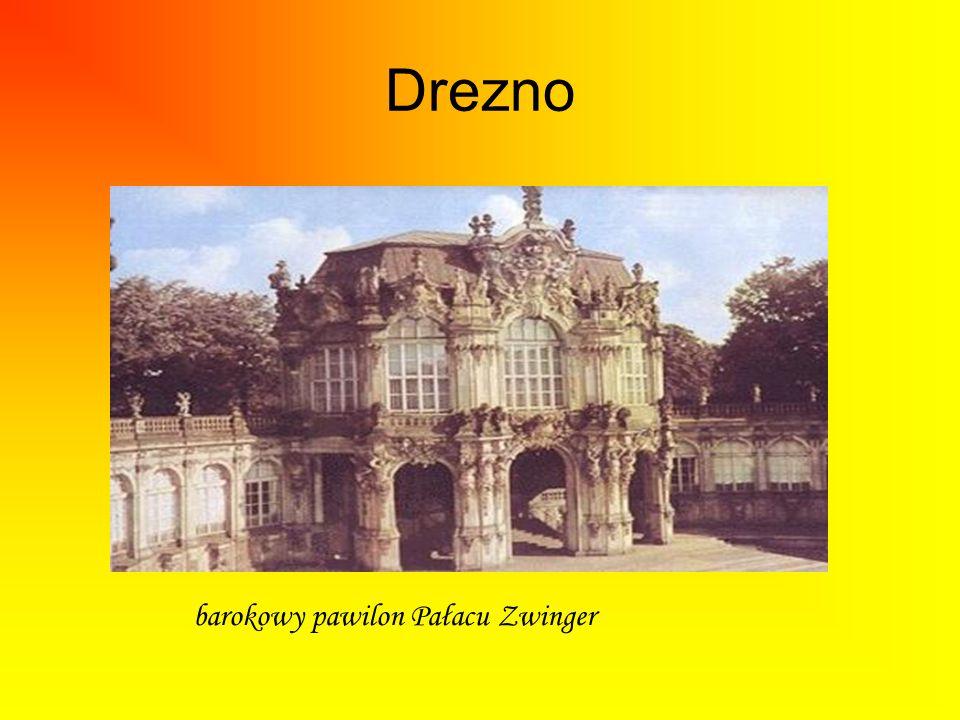 Drezno barokowy pawilon Pałacu Zwinger