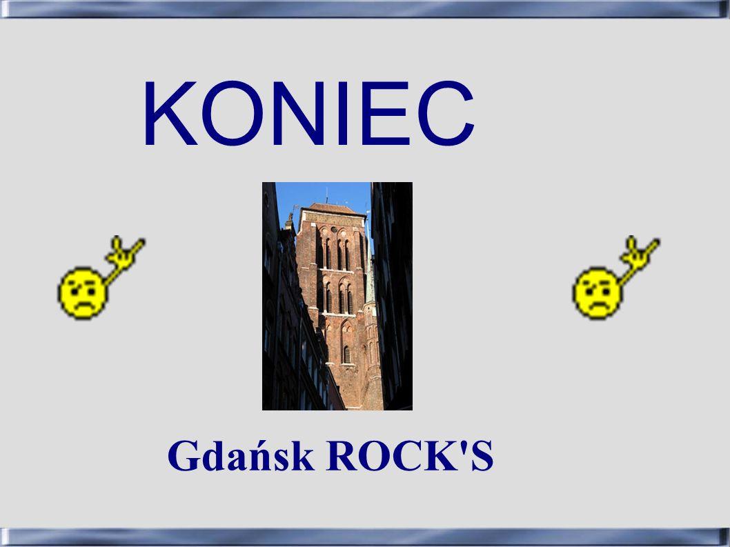 KONIEC Gdańsk ROCK'S