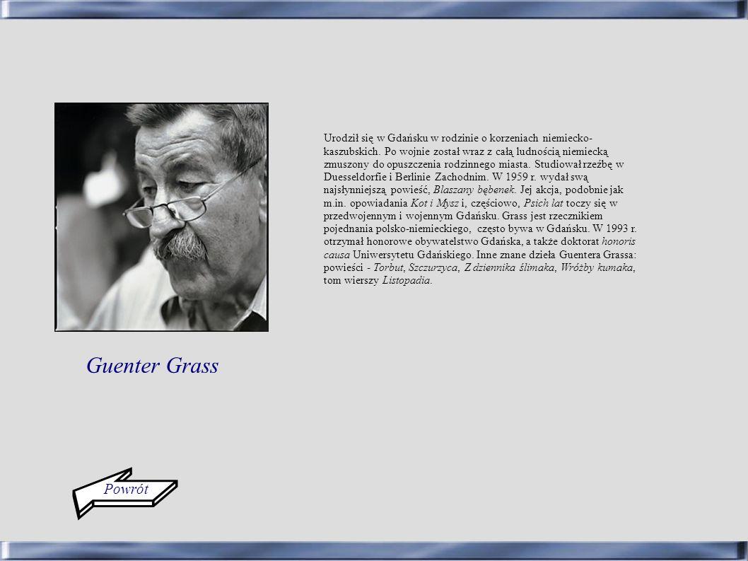 Powrót Urodził się w Gdańsku w rodzinie o korzeniach niemiecko- kaszubskich. Po wojnie został wraz z całą ludnością niemiecką zmuszony do opuszczenia