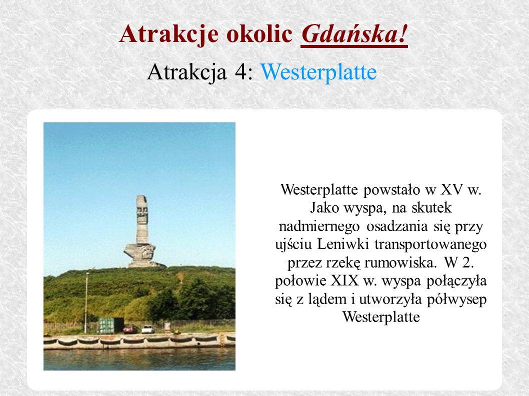 Westerplatte powstało w XV w. Jako wyspa, na skutek nadmiernego osadzania się przy ujściu Leniwki transportowanego przez rzekę rumowiska. W 2. połowie