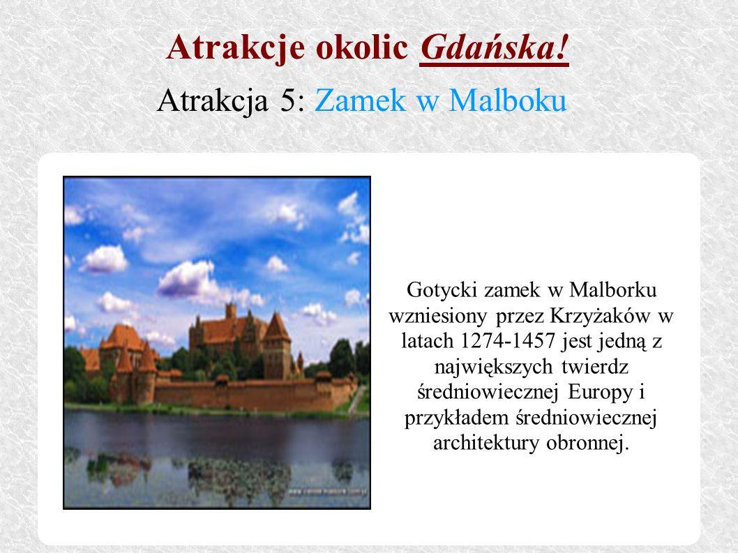 Gotycki zamek w Malborku wzniesiony przez Krzyżaków w latach 1274-1457 jest jedną z największych twierdz średniowiecznej Europy i przykładem średniowi