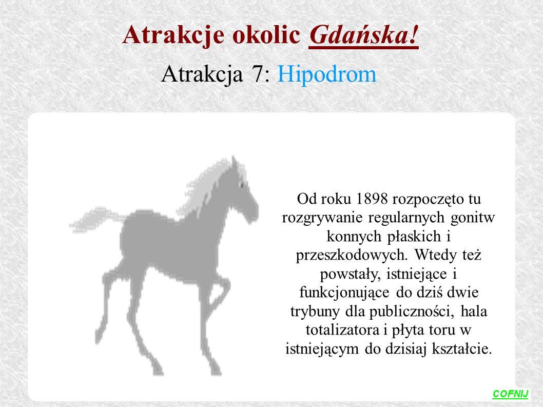 Od roku 1898 rozpoczęto tu rozgrywanie regularnych gonitw konnych płaskich i przeszkodowych. Wtedy też powstały, istniejące i funkcjonujące do dziś dw