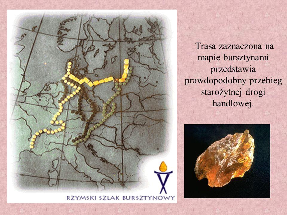 Starożytni ludzie doskonale znali tą trasę. Była ona dla nich jednym z najważniejszych szlaków komunikacyjnych.