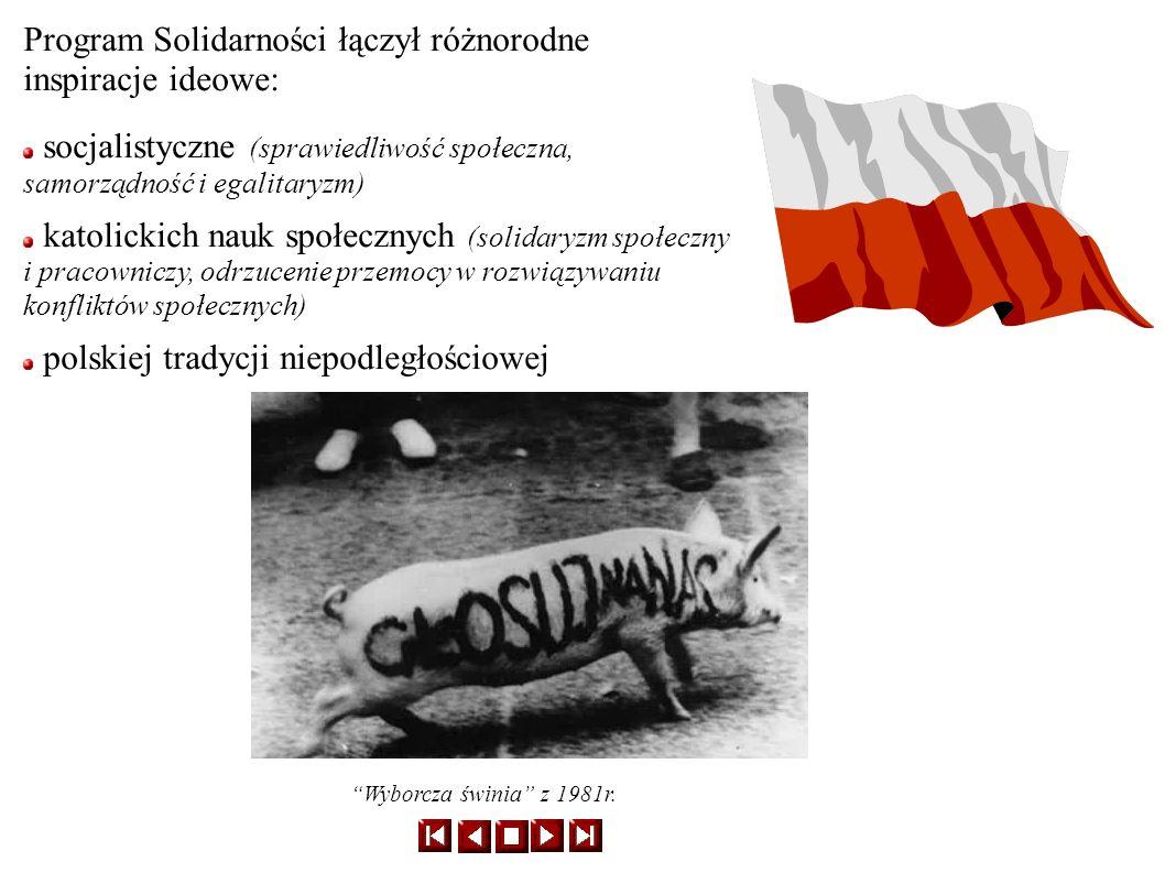 Po ogłoszeniu stanu wojennego (13 grudnia 1981) NSZZ Solidarność został zdelegalizowany.