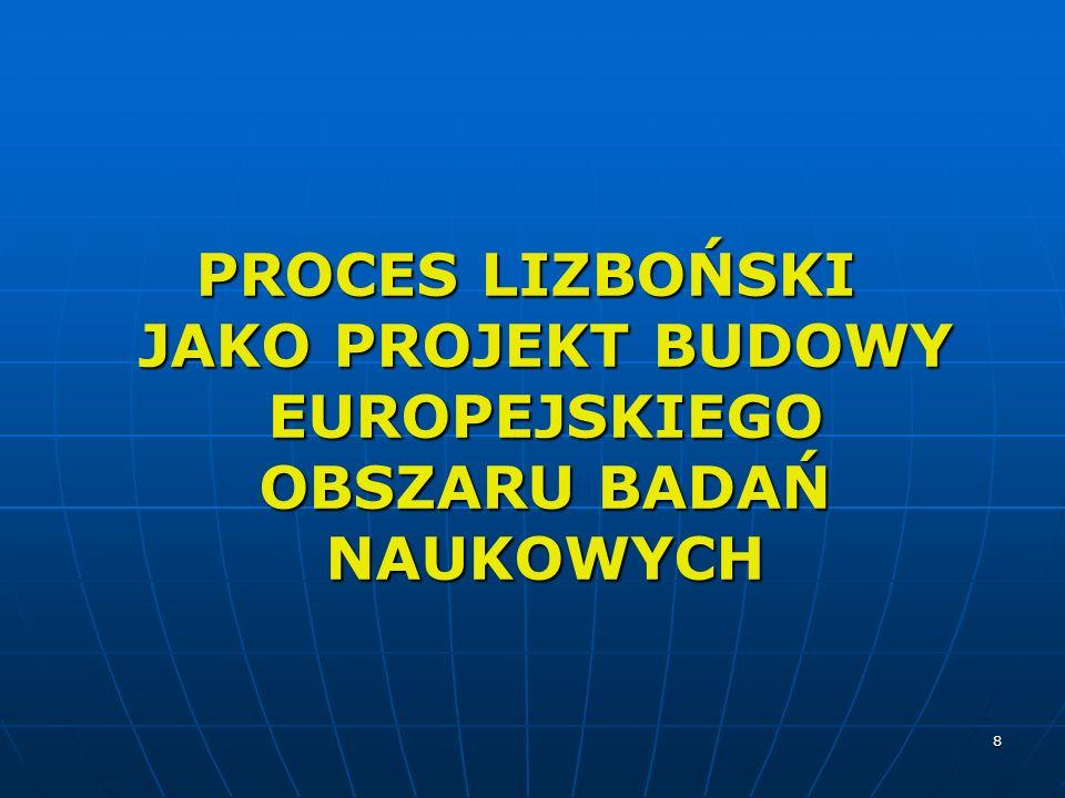 19 EUROPEJSKIE RAMY KWALIFIKACJI