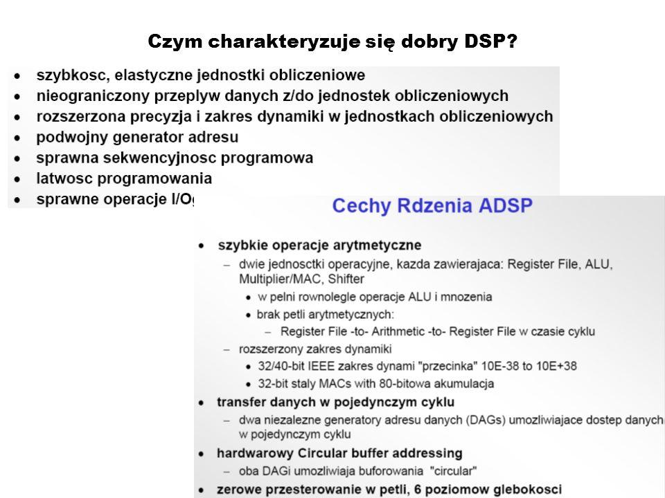 Czym charakteryzuje się dobry DSP?