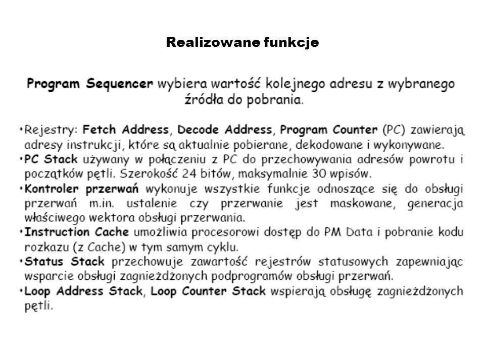 Architektura Fetch – pobranie kodu rozkazu Potok (ang.