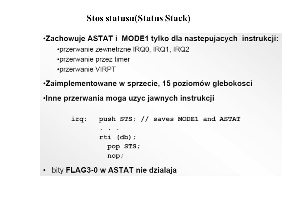 Stos statusu(Status Stack)