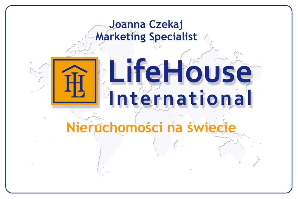 Nieruchomości na świecie Joanna Czekaj Marketing Specialist