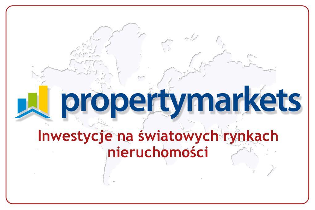 5 O propertymarkets propertymarkets – pierwszy taki portal w Polsce Aktualności ze światowych rynków nieruchomości Zindywidulaizowany newsletter Forum dla zainteresownych użytkowników Najbardziej intratne oferty inwestycyjne dzięki nowatorskiej formule sprzedaży PWR (Poniżej Wartości Rynkowej)