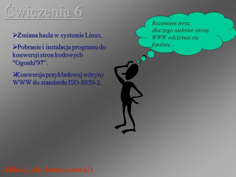 Zmiana hasła w systemie Linux.Zmiana hasła w systemie Linux.