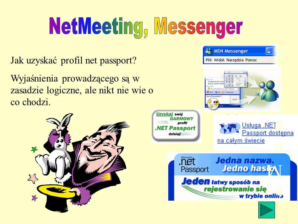 Jak uzyskać profil net passport.