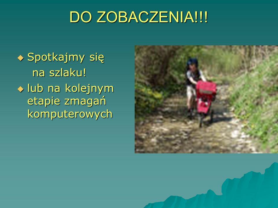 SPOTKAJMY SIĘ NA SZLAKU!!! janina.wozinska@edu.oeiizk.waw.pl