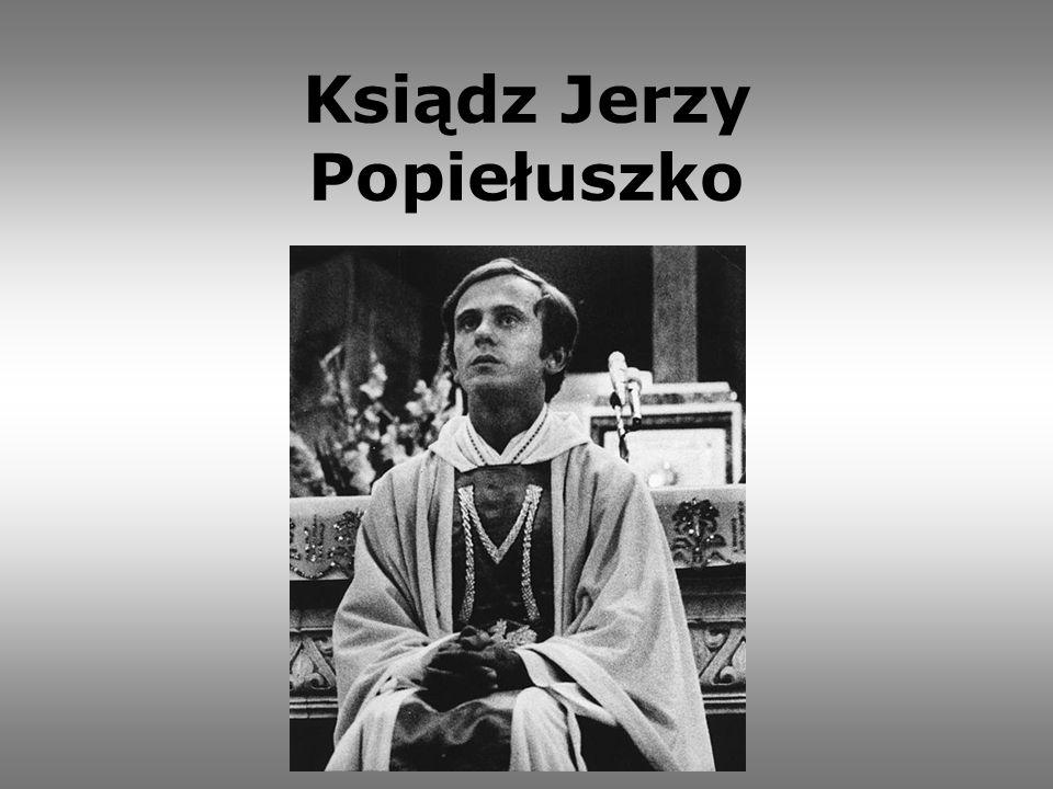 Życiorys Rodzice Jerzego Popiełuszki – Władysław (1910 – 24 czerwca 2002) i Marianna z Gniedziejków (ur.