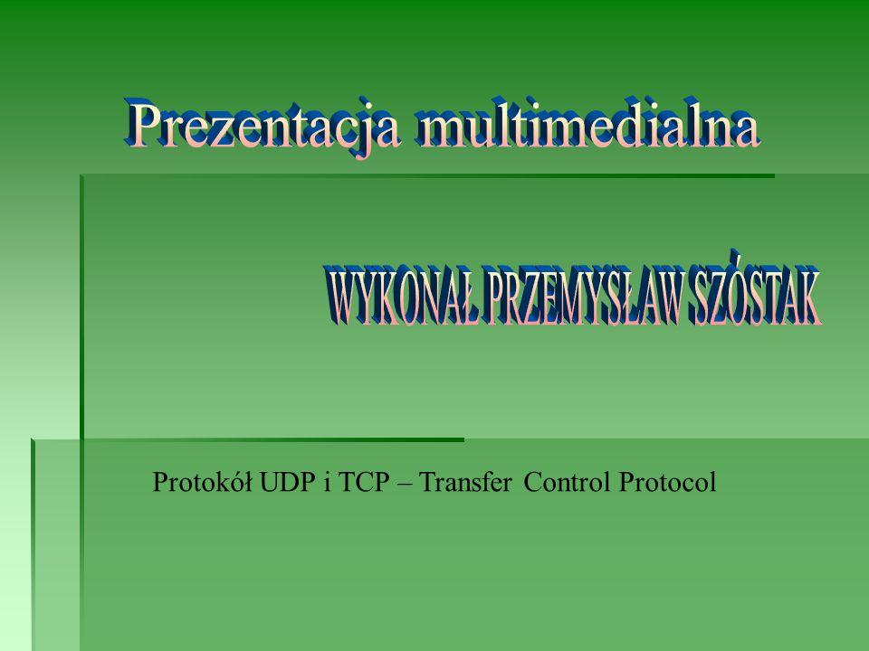 Protokół UDP i TCP – Transfer Control Protocol