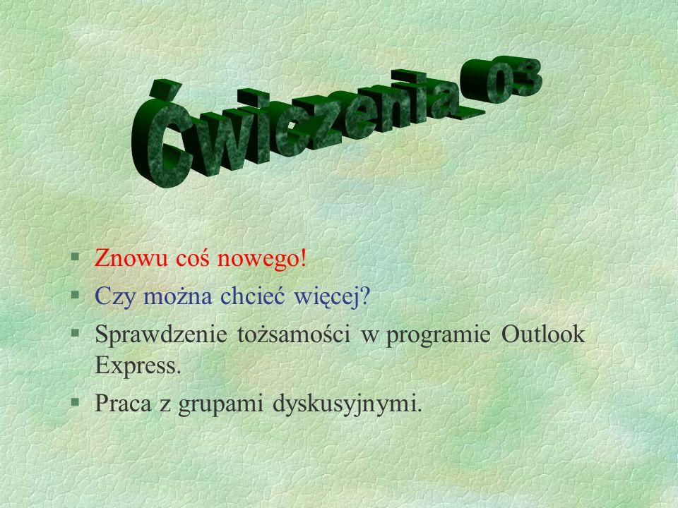 §Tworzenie własnej strony WWW §Umieszczanie jej na serwerze edu.oeiizk.waw.pl §Super uczucie.