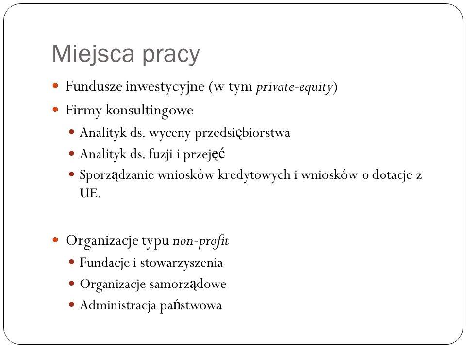 Oferta dydaktyczna Na studiach I – go stopnia oferujemy zestaw przedmiotów poszerzaj ą cy wiedz ę podstawow ą m.