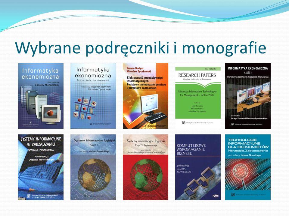 Wybrane podręczniki i monografie