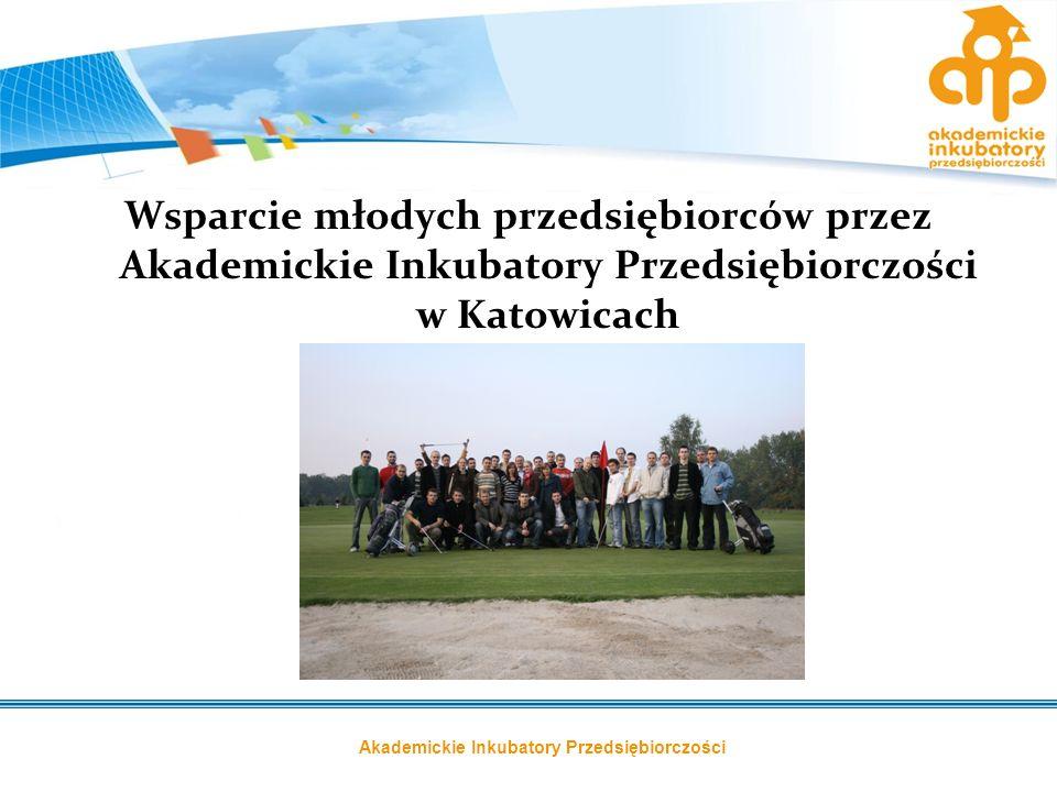 Akademickie Inkubatory Przedsiębiorczości Wsparcie młodych przedsiębiorców przez Akademickie Inkubatory Przedsiębiorczości w Katowicach