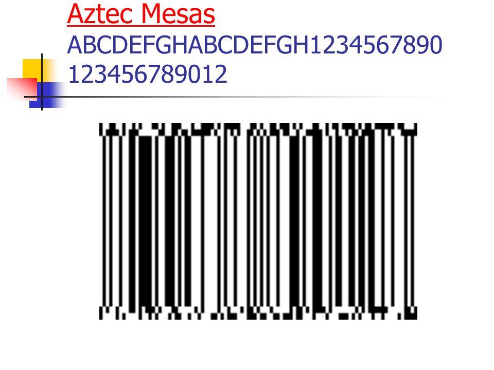 Aztec Mesas Aztec Mesas ABCDEFGHABCDEFGH1234567890 123456789012