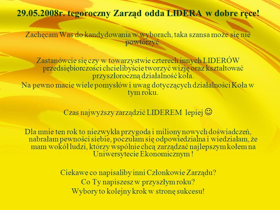 Lideroofka wciąż się zmienia, jeśli chcecie się do nas dołączyć albo macie jakieś uwagi lub pomysły, kierujcie swoje maile na: lideroofka@interia.pl