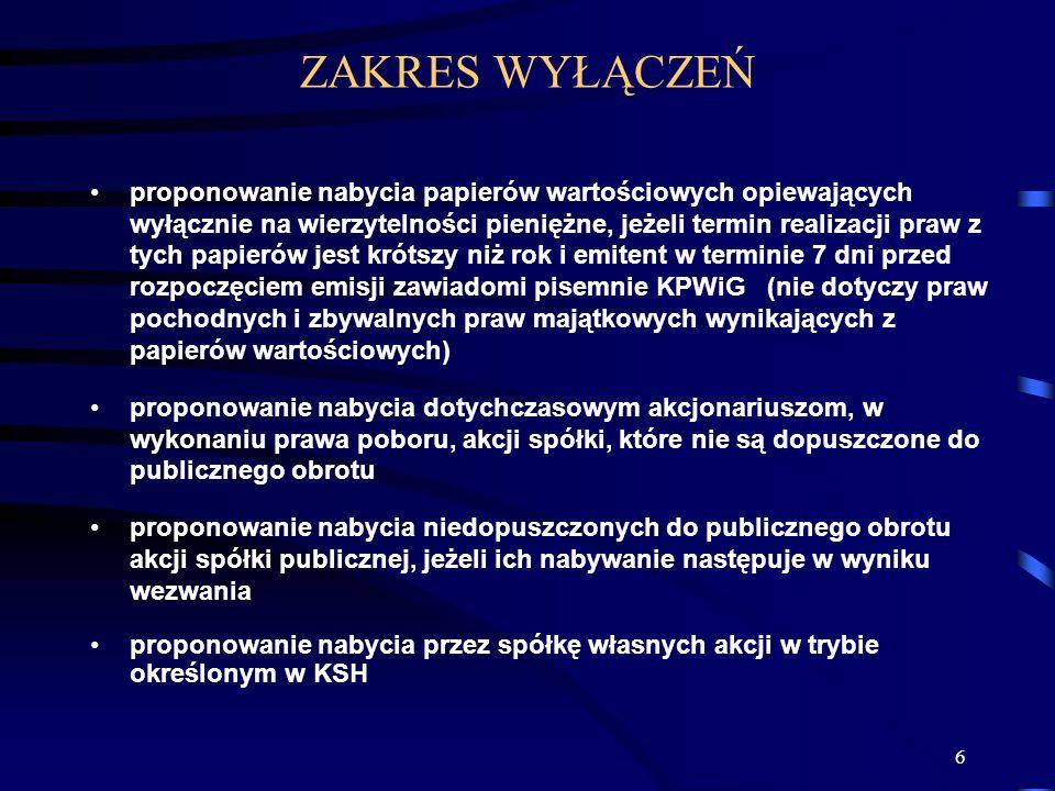 127 KRAJOWY DEPOZYT PAPIERÓW WARTOŚCIOWYCH KDPW jest spółką akcyjną, która działa na podstawie Kodeksu Spółek Handlowych i ustawy Prawo o publicznym obrocie papierami wartościowymi.