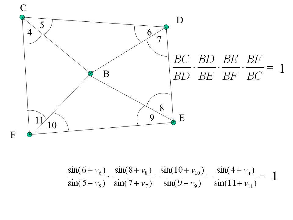 Warunek sinusowy: B C D E F 1 2 3 45 6 7 8 9 10 11 1 1
