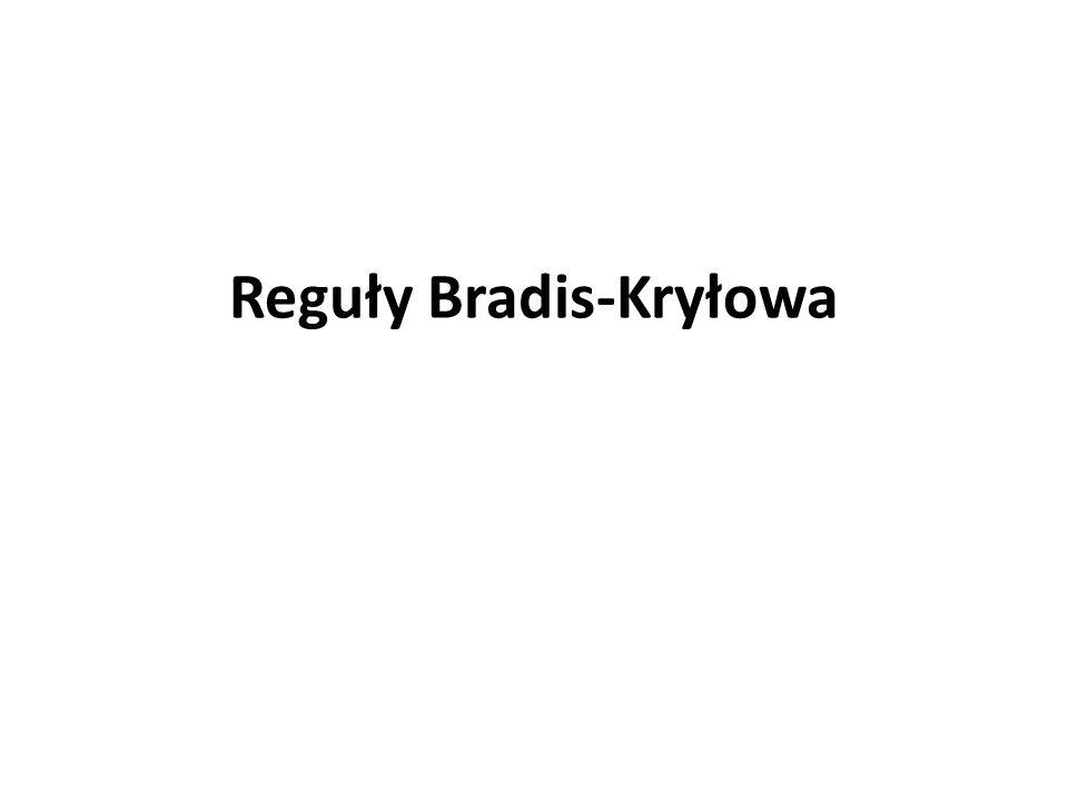 Reguły Bradis-Kryłowa