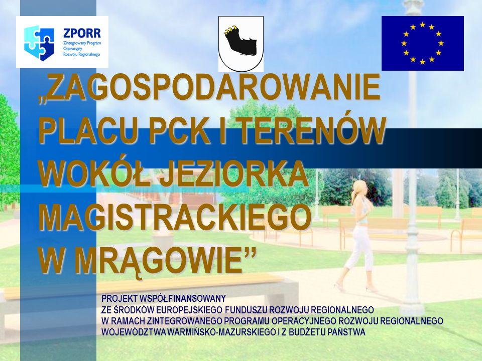 Mrągowska Syrenka na Placu PCK Autorem rzeźby jest brukselski artysta Filip Brodzki