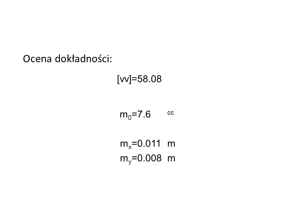 P1202.35194.17 V 11.9 26.0 3-4.3 L + vKąt obl. 151.08669 235.73580 362.3120762.31206 Wyrównane współrzędne: