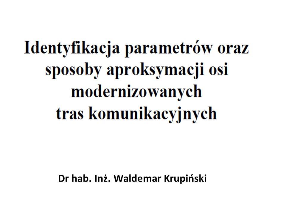 Dr hab. Inż. Waldemar Krupiński