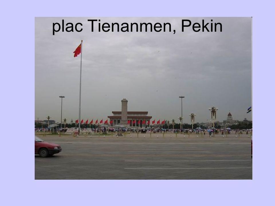 plac Tienanmen, Pekin