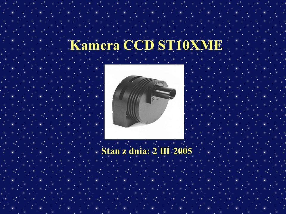 Kamera CCD ST10XME Stan z dnia: 2 III 2005