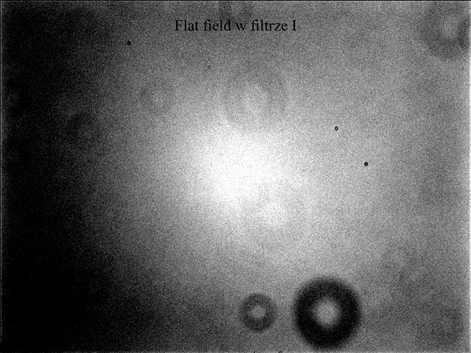 Flat field w filtrze I