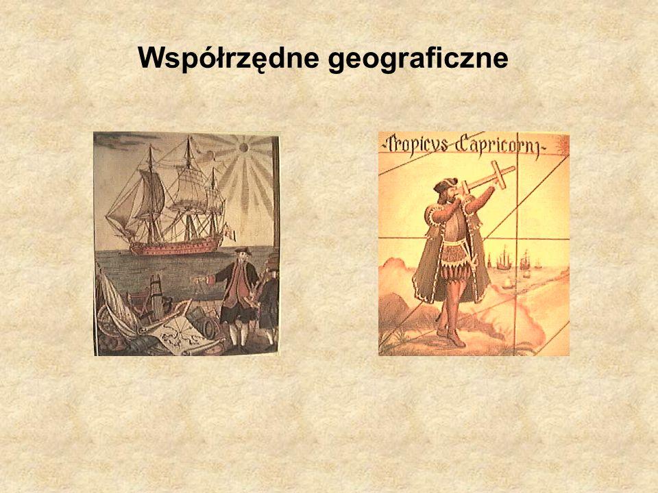Współrzędne geograficzne