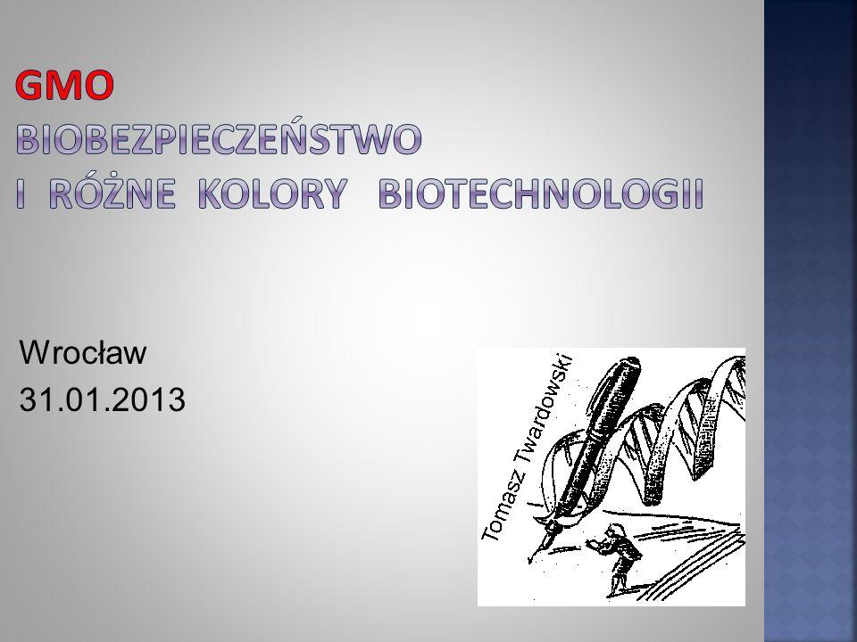 Rośliny GM w UE w latach 1995-2002 [8] 81 projektów badawczych z udziałem GMO w zakresie biobezpieczeństwa.