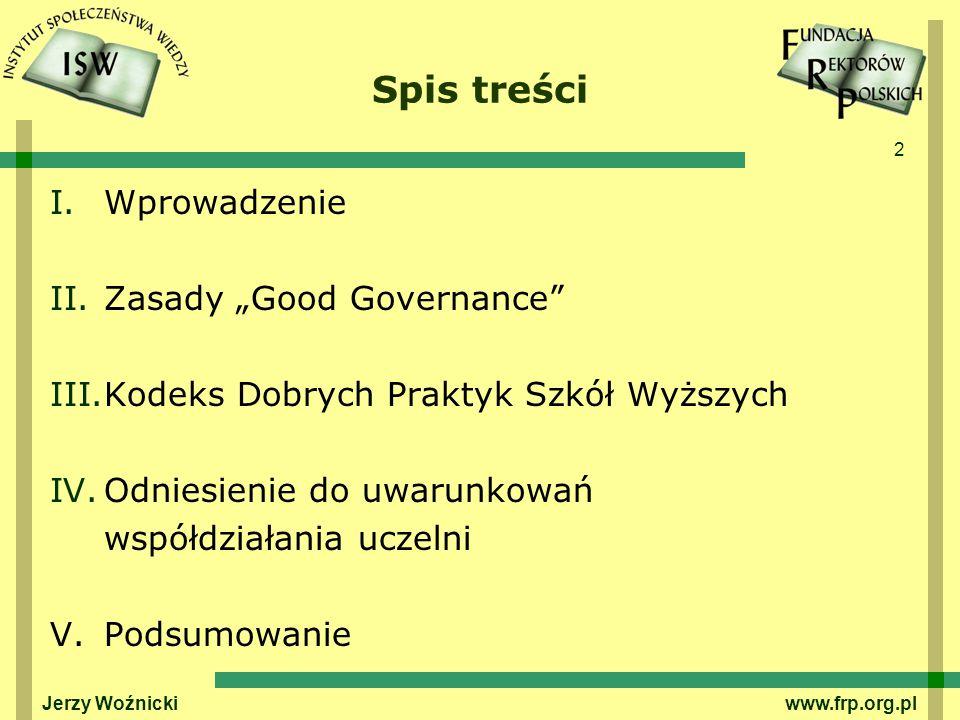 3 I.WPROWADZENIE Fundacja Rektorów Polskich została utworzona w 2001 r.