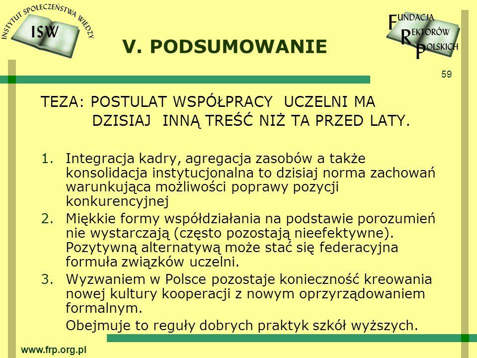 59 www.frp.org.pl V.