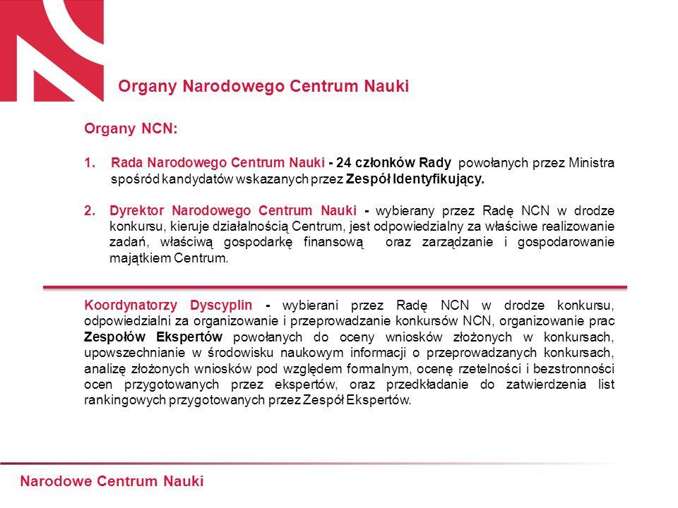 Planowane konkursy NCN w najbliższym czasie Narodowe Centrum Nauki grudzień 2011 konkurs na finansowanie staży po uzyskaniu stopnia naukowego doktora konkurs na finansowanie międzynarodowych projektów badawczych niewspółfinansowanych konkurs na finansowanie projektów badawczych dla doświadczonych naukowców