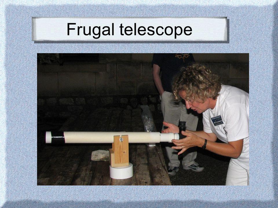 Frugal telescope
