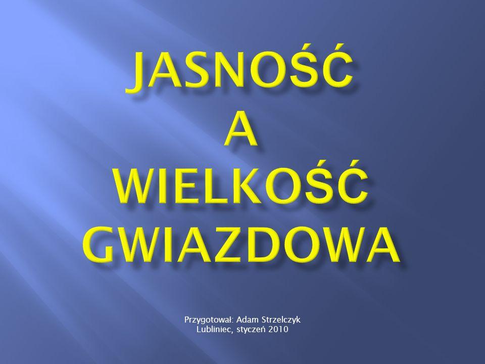 Przygotowa ł : Adam Strzelczyk Lubliniec, stycze ń 2010