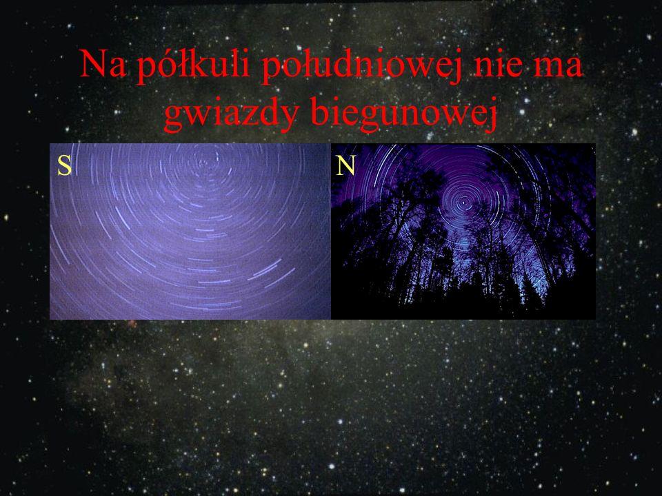 Gwiazda Polarna wskazuje kierunek północny