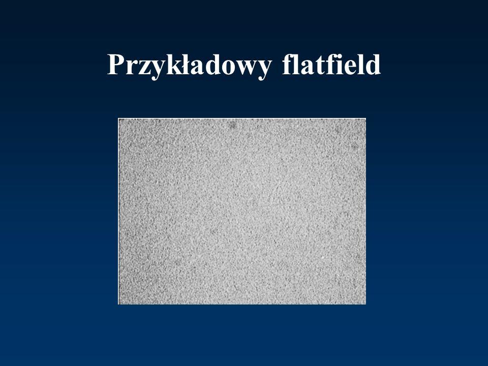 Przykładowy flatfield