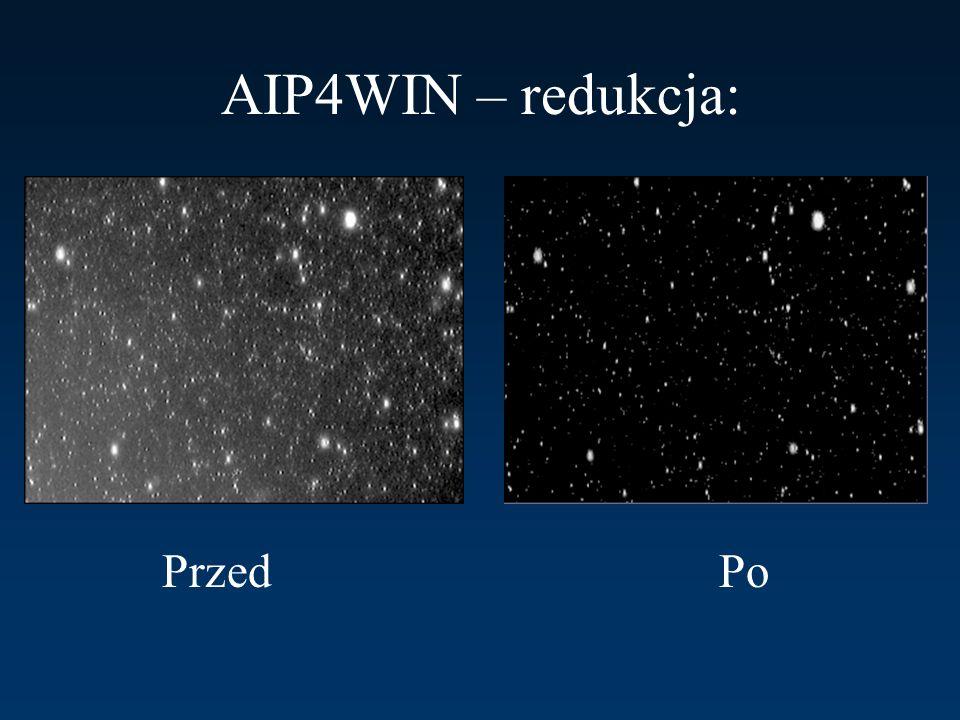AIP4WIN – redukcja: Przed Po