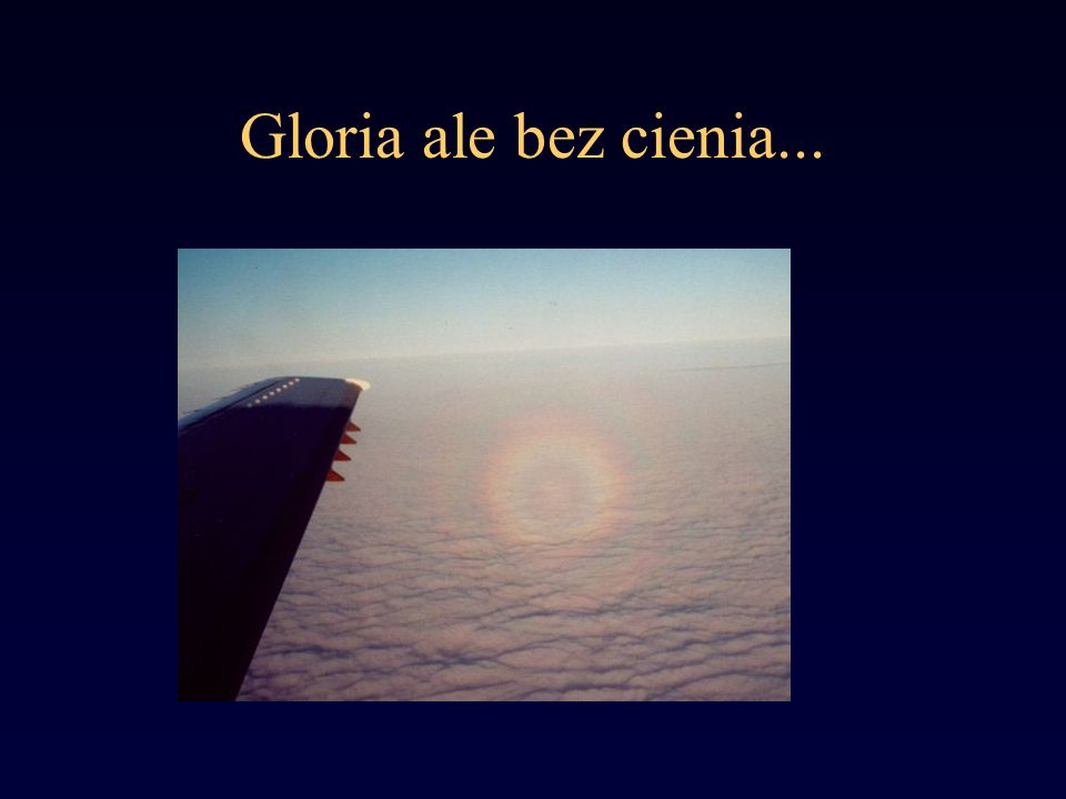 Gloria ale bez cienia...