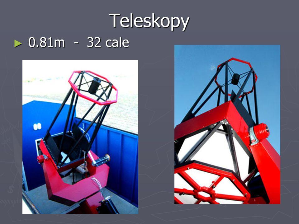 Teleskopy 0.81m - 32 cale 0.81m - 32 cale
