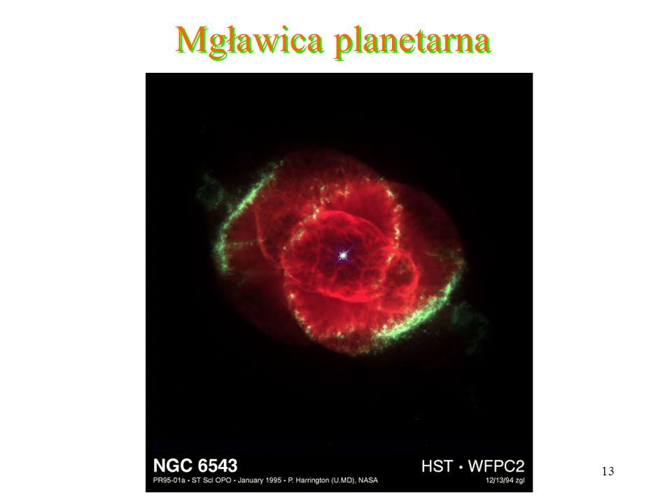 13 Mgławica planetarna
