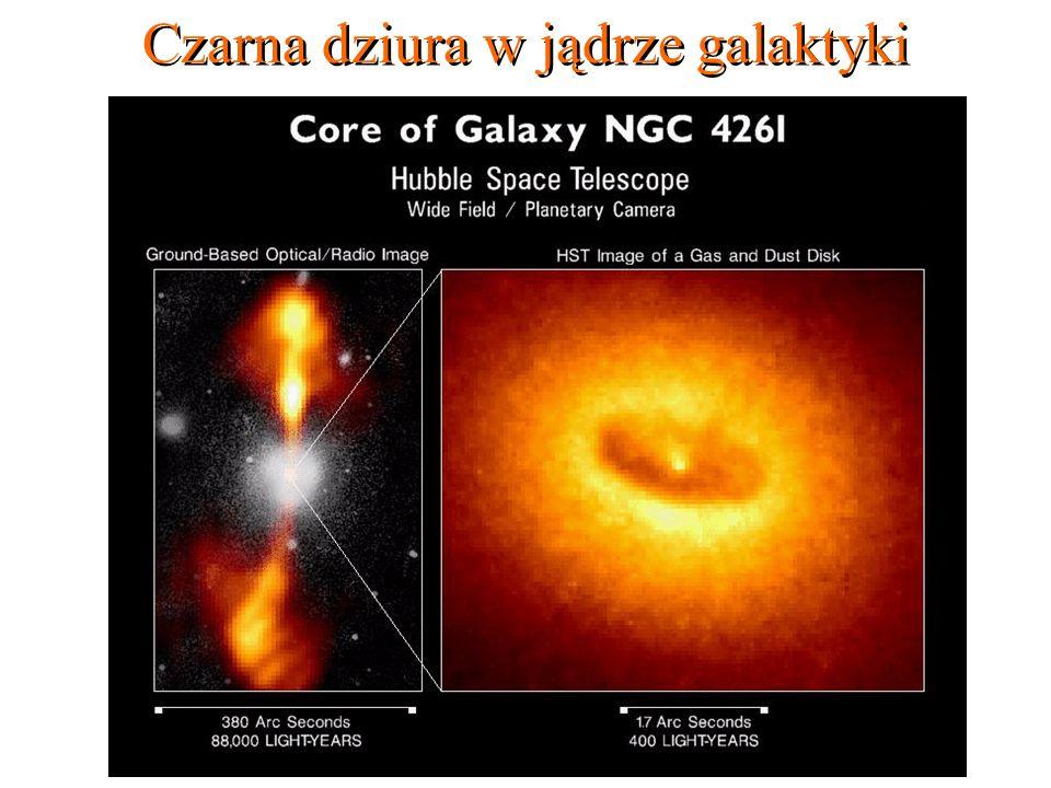 18 Czarna dziura w jądrze galaktyki