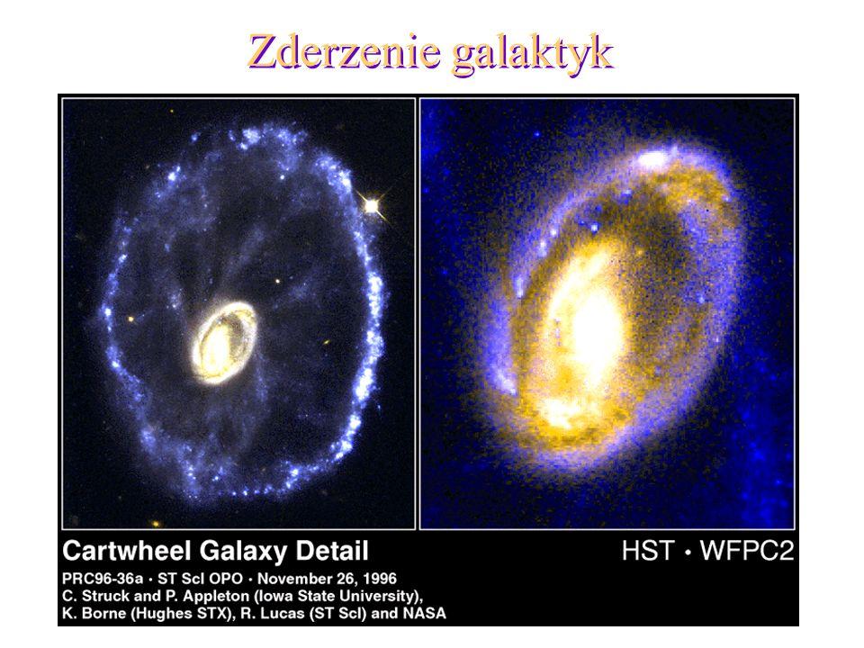 19 Zderzenie galaktyk