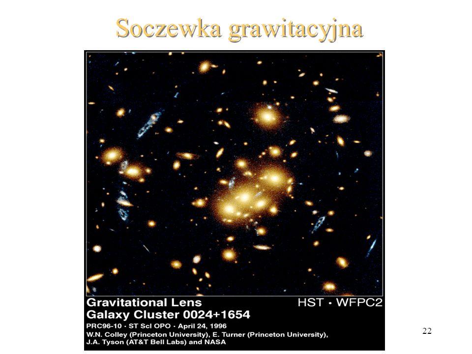22 Soczewka grawitacyjna
